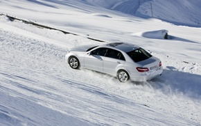 Обои mercedes-benz, 4matic, машины, зима