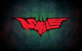Картинка Smile, batman, бетмен, стиль, джокер, joker