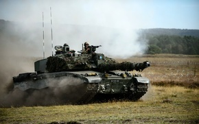 Обои оружие, армия, танк, Challenger 2