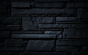 Картинка камни, фон, обои, чёрное, текстура, рельефность