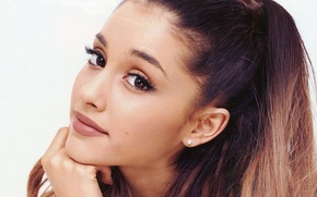 Картинка взгляд, певица, Ariana Grande, Ариана Гранде