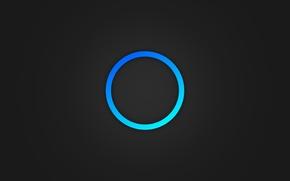 Картинка круг, минимализм, psp