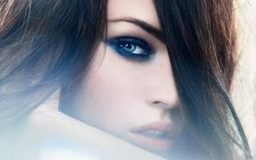 Картинка взгляд, девушка, лицо, Megan Fox, модель, волосы, актриса, шик