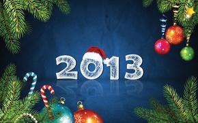 Картинка праздник, шапка, новый год, 2013, Happy New Year 2013