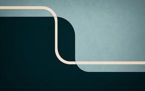 Обои линии, абстракция, полосы, креатив, green, style, blue, lines, creative, backgrounds, abstract walls