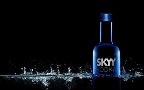 Картинка фон, реклама, водка, skyy vodka