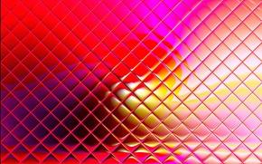 Обои цвет, свет, блеск, ячейки, линии