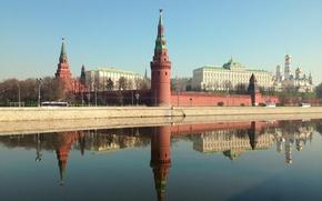 Картинка Москва, кремль, Россия, столица