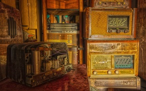 Картинка фон, радио, приёмники
