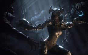Картинка девушка, оружие, нежить, Diablo III, Demon Hunter, Reaper of Souls