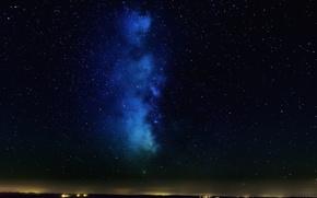 Картинка космос, звезды, ночь, пространство, млечный путь