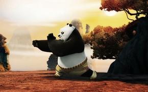 Картинка Kung fu panda, кунг фу панда, панда, по, po, мультфильм