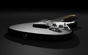 Обои тень, Stratocaster, Fender, гатара