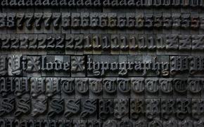 Картинка Гранки, Шрифт, Типография
