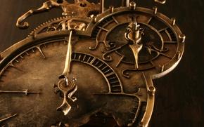 Обои Часы, металла, бронзы, ковка