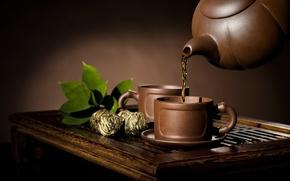 Картинка чай, традиция, конфетка