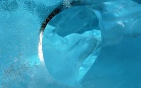 Обои вода, холод, лед