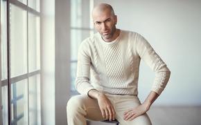 Картинка франция, легенда, футболист, real madrid, реал мадрид, football, Zinedine Zidane, Зинедин Зидан