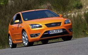 Картинка Ford, Orange, Focus