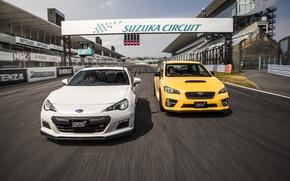Обои субару, 2015, STi, спорт, BRZ, Subaru