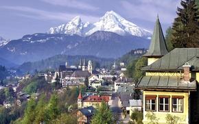 Картинка Горы, Германия, Лес