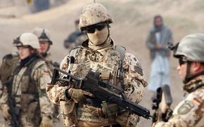 Картинка оружие, Германия, солдаты, экипировка, бундесвер