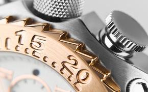 Картинка numbers, Watch, polished metal