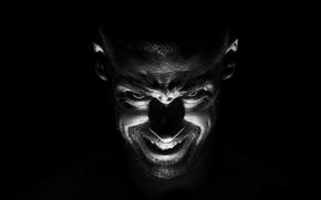 Картинка черный, человек, демон, зло, одержимый