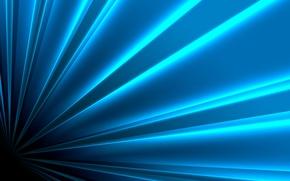 Обои свет, полосы, линии, lines, цвета, colors, light, креатив blue, синий