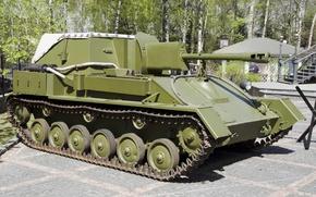 Картинка СУ-76М, применявшаяся, артиллерийская, САУ, Отечественной войне, в Великой, советская, самоходная, установка