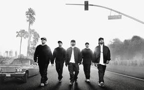 Картинка Car, Music, Ice Cube, Street, Wallpaper, Road, Movie, Film, Palms, Way, Dr. Dre, Ride, Easy-E, …