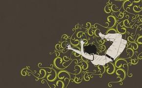 Обои узор, Вектор, прыжок