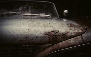 Картинка Plymonth, старый, old, retro, ржавый, кузов, car, авто