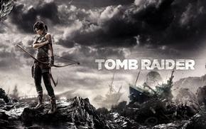 Обои game, игра, Tomb Raider, девушка, 2013