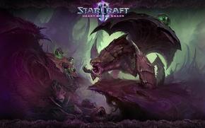 Картинка StarCraft 2, Зерги, Heart of the Swarm, Роевик