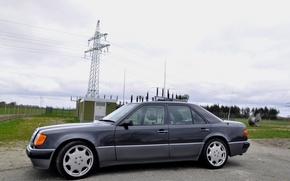 Картинка Mercedes-Benz, dorest, w124 500E