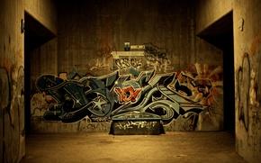 Обои city, город, стиль, креатив, стена, стены, рисунок, рисунки, style, улицы, подземка