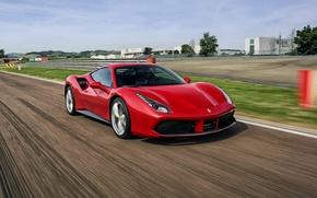 Картинка Ferrari, феррари, GTB, 2015, 488