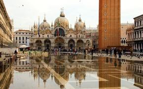 Картинка Венеция, Собор Святого Марка, площадь Сан Марко