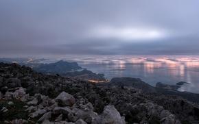 Картинка восход, Греция, Родос