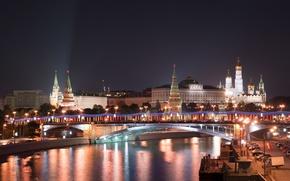 Обои Кремль, Москва, Новый год