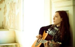 Картинка гитара, Blues, singer, songwriter, Folk, Carly Gibson
