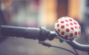 Картинка велосипед, фон, звонок