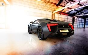 Картинка car, суперкар, supercar, black, Lykan Hypersport, W Motors, UHD