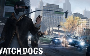 Картинка полиция, iphone, ubisoft, Watch Dogs
