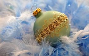 Картинка игрушка, новый год, шар, рождество, шарик, украшение