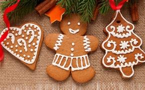Картинка еда, Новый Год, печенье, Рождество, christmas, Christmas, food, выпечка, праздники, New Year, cookies, Holidays, новогоднее