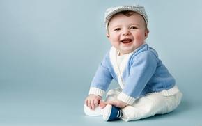Картинка радость, счастье, дети, детство, улыбка, ребенок, позитив, мальчик, малыш, мужчина, малыши, ребёнок, карапуз