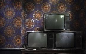 Картинка фон, комната, телевизоры