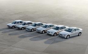 Обои auto 5 серия, 5 series, bmw, эволюция, машина